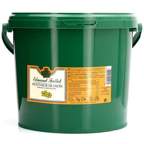 Fallot - Moutarde en grains - Edmond Fallot seau plastique 5kg
