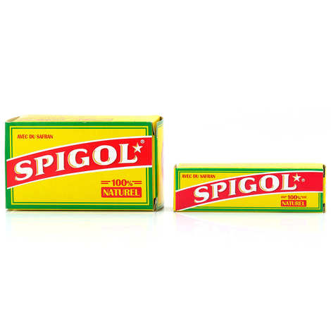 Spigol - Spigol® - mélange d'épices pour paëlla dont 3% de safran en dosettes
