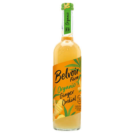 Belvoir - Sirop artisanal bio au gingembre