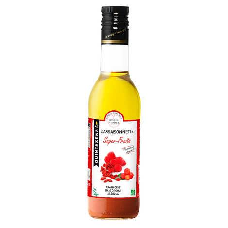 Quintesens - Vinaigrette bio Superfruits 100% naturelle sans émulsion