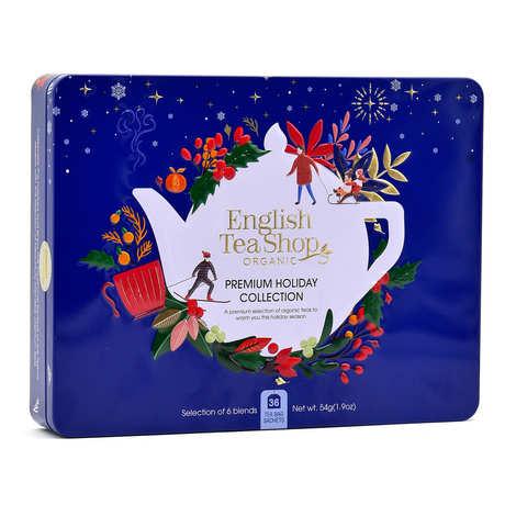 English Tea Shop - Blue holiday gift box