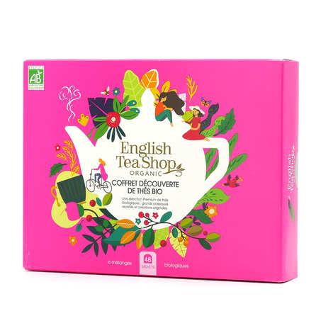 English Tea Shop - Coffret découverte de thés bio