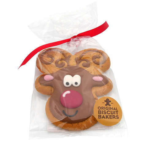 Image on food - Iced Deluxe Reindeer