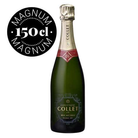 Champagne Collet - Champagne Collet Brut Art Déco Premier Cru en Magnum