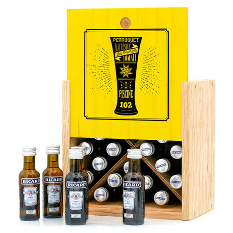 BienManger paniers garnis - Ricard Advent Calendar - 24 sample bottles