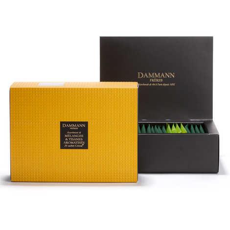 Dammann frères - Assortiment de sachets - Topaze - 20 mélanges pour infusion