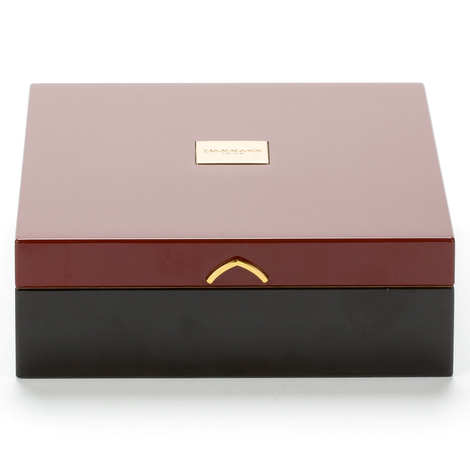 Dammann frères - Red collection box - Vermeil