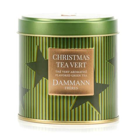 Dammann frères - Chirtmas  Green Tea collection