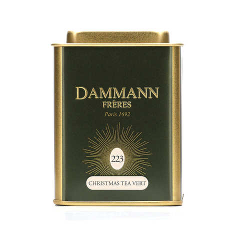 Dammann frères - Collection Christmas Tea vert