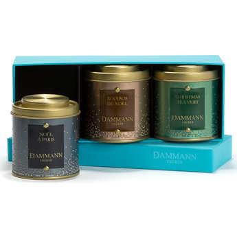 Dammann frères - Coffret Happy Christmas - 2 thés & 1 infusions assorties