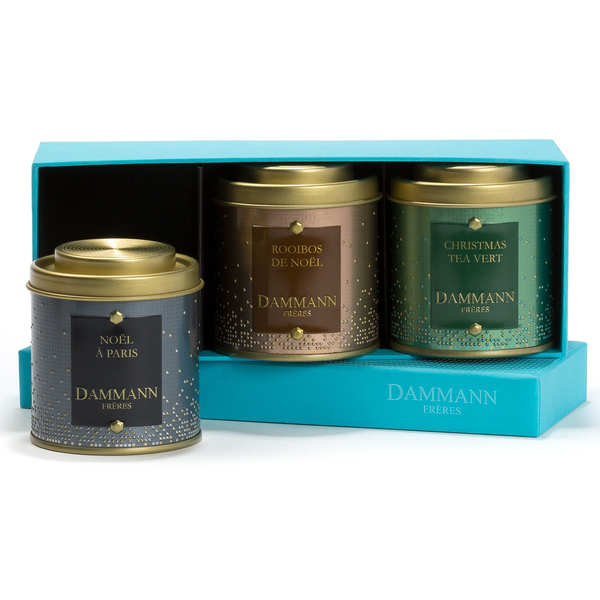 Coffret Happy Christmas - 2 thés & 1 infusions assorties