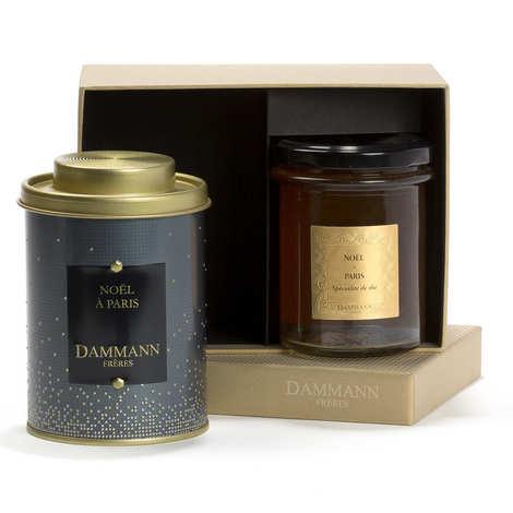 Dammann frères - Coffret Christmas Eve - 1 thé & 1 spécialité de thé