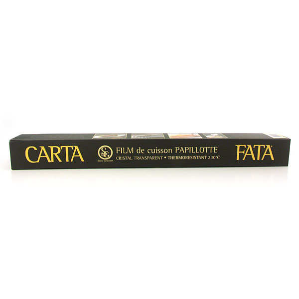 Carta Fata professional cooking foil - 25m