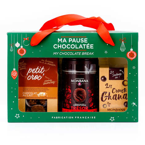 Monbana Chocolatier - Christmas hot chocolate box