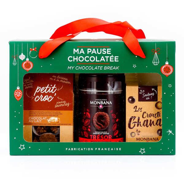 Coffret chocolat chaud de Noël
