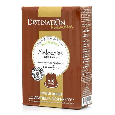 Origines Tea and Coffee - Café Sélection bio, capsules compatibles Nespresso® - Force 7/10