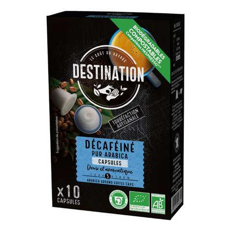 Origines Tea and Coffee - Café Déca bio, capsules compatibles Nespresso® - Force 3/10