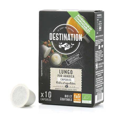 Origines Tea and Coffee - Café Lungo bio, capsules compatibles Nespresso® - Force 8/10