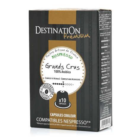 Origines Tea and Coffee - Café Grands crus bio, capsules compatibles Nespresso® - Force 6/10