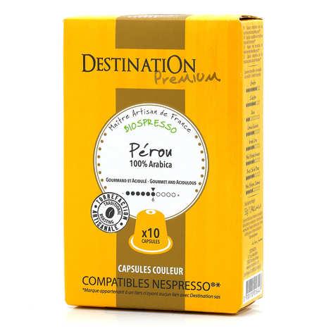 Origines Tea and Coffee - Café Peru Palomar bio, capsules compatibles Nespresso® - Force 6/10
