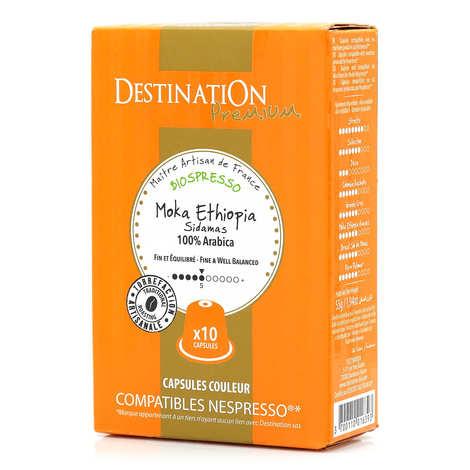 Origines Tea and Coffee - Café Moka Sidamas bio, capsules compatibles Nespresso® - Force 5/10