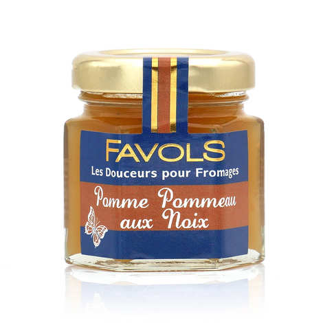 Favols - Douceur pour fromages pomme pommeau aux noix