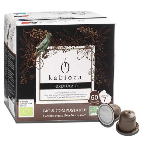 Kabioca - Organic expresso coffee - Nespresso® compatible capsules
