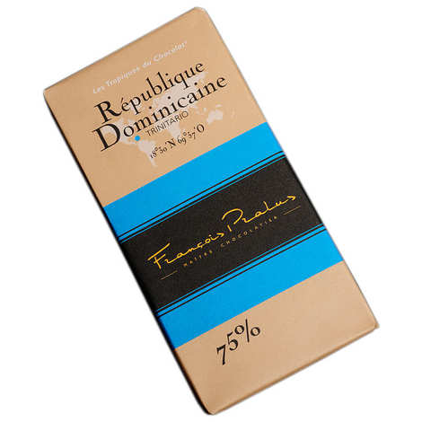 Chocolats François Pralus - Dominican Republic Trinitario chocolate bar 65%