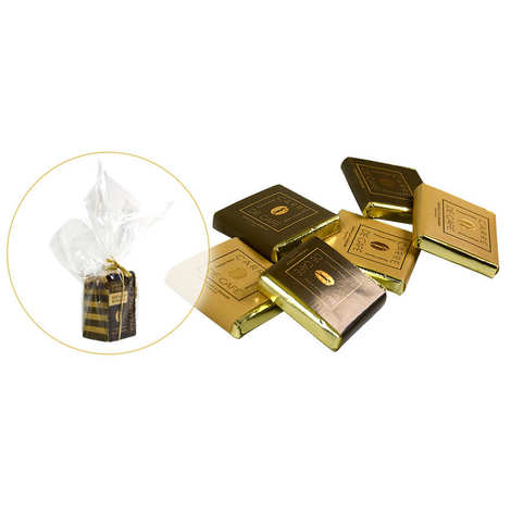 Chocolats François Pralus - La mini pyramide carrés de café - Pralus