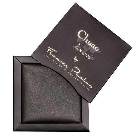Chocolats François Pralus - Tablette chocolat noir Chuao - Trinitario 75%