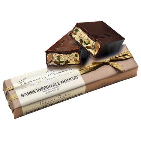 Chocolats François Pralus - Nougat chocolate bar - Pralus