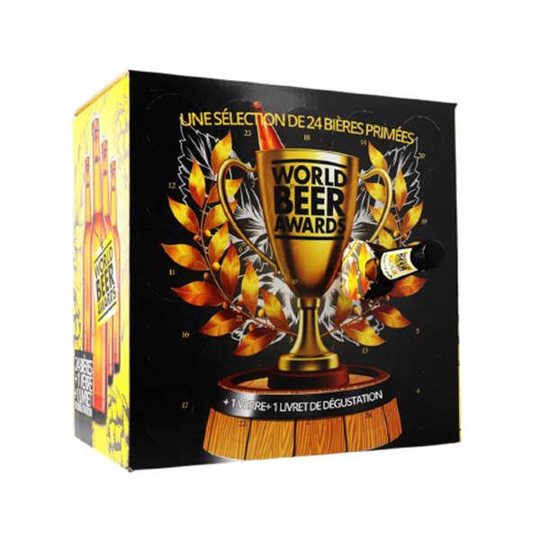 Calendrier de l'avent 24 bières primées aux World Beer Awards