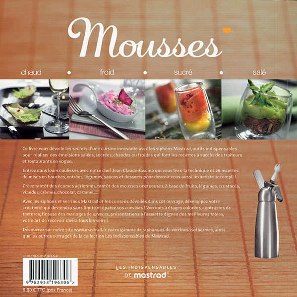 Cookbook Mastrad