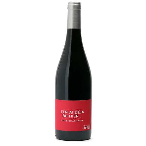 """Domaine des Pothiers - """"J'en ai déjà bu hier"""" - 100% Gamay St Romain wine"""