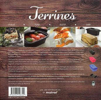 Mastrad - Terrines - Livre de recettes Mastrad