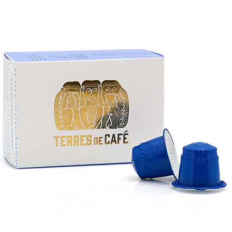 Terres de Café - Café Terroirs bio - capsules compatibles Nespresso®