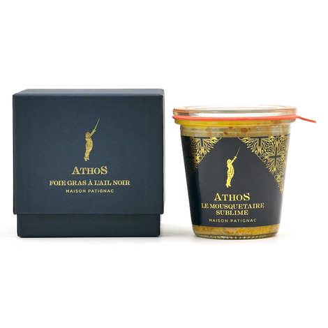 Maison Patignac - Foie gras de canard entier à l'ail noir