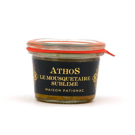 Maison Patignac - Whole duck foie gras with black garlic