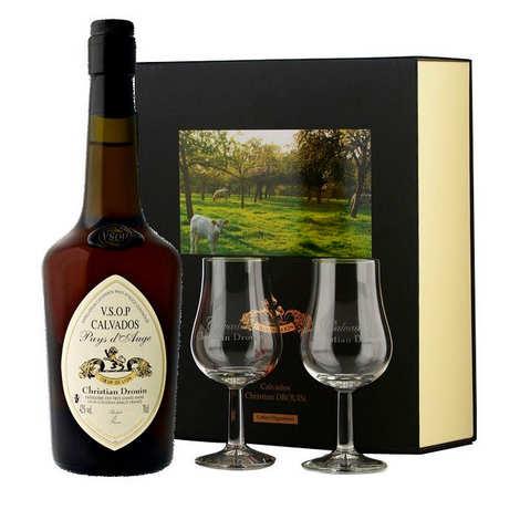 Christian Drouin - Christian Drouin  Calvados VSOP 40% in gift box