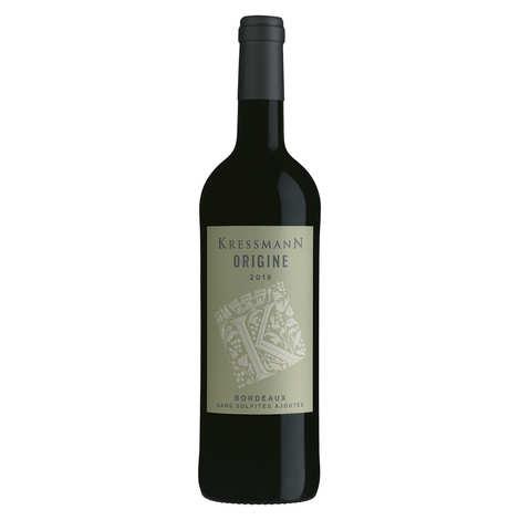 Kressmann - Bordeaux rouge sans sulfites ajoutés - Origin de Kressmann