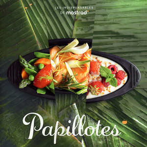 "Mastrad - Cooking with ""papillotes"" - recipe book by Mastrad"