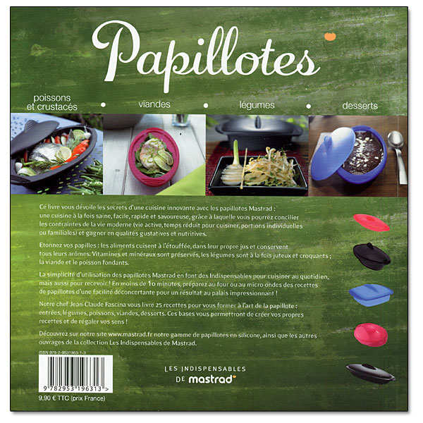 "Cooking with ""papillotes"" - recipe book by Mastrad"