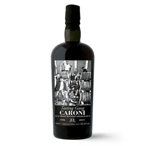 Velier - Rhum Caroni Guyana 23 ans 1996 Tasting Gang 63.5%