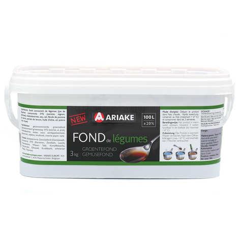 Ariaké Japan - Fond de légumes en pâte Ariaké format pro 3L (pour 100 litres de bouillon)