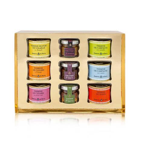 Comtesse du Barry - 6 Terrines and 3 Chutneys Gift Box - Comtesse du Barry