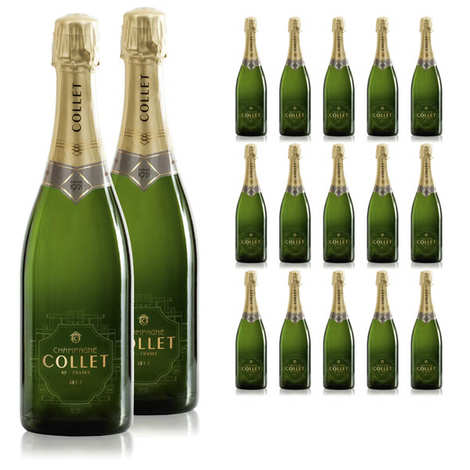 Champagne Collet - 24 bouteilles Champagne Collet Brut