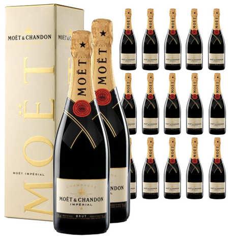 Moët et Chandon - 24 bouteilles Champagne Moët et Chandon Brut Impérial