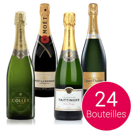- Discovery pack - 24 bottles of champaign