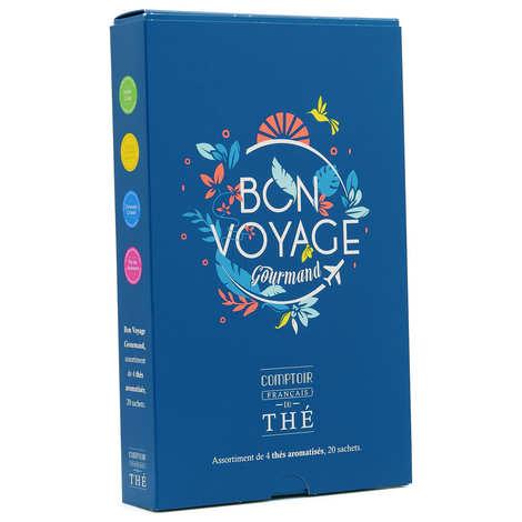 """Comptoir Français du Thé - Coffret dégustation thé """"Bon Voyage"""""""