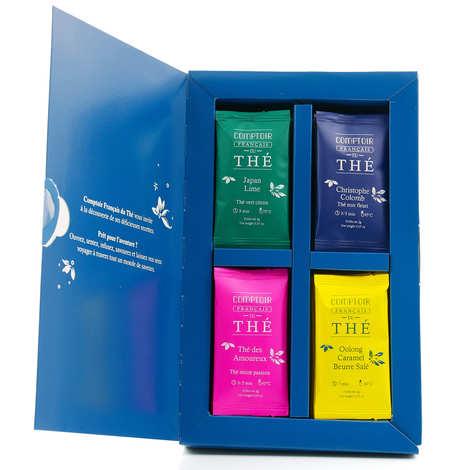 """Comptoir Français du Thé - """"Bon Voyage"""" Tea Assortment"""